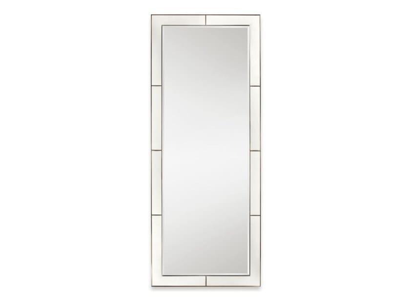 Rectangular leather mirror AMELIA by Cantori