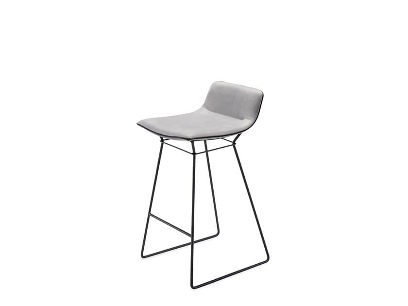 Strange Amelie Counter Stool Low By Freifrau Design Birgit Bralicious Painted Fabric Chair Ideas Braliciousco