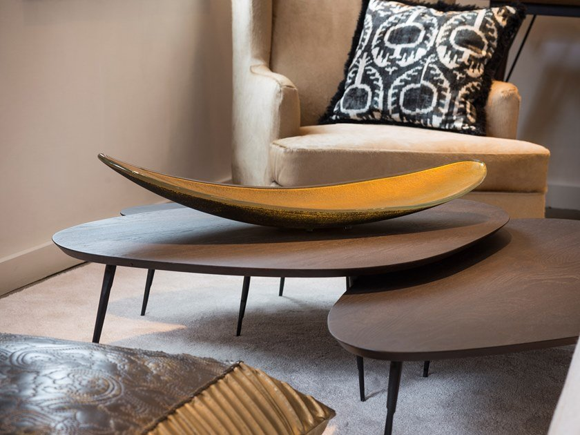 Glass centerpiece AMENDOA by Gardeco