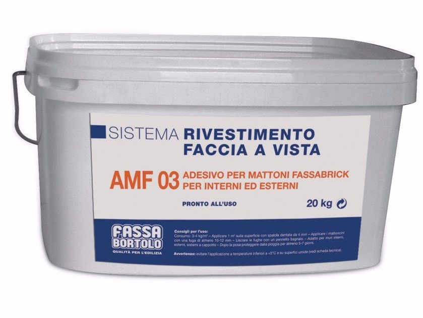 Chemical anchor AMF 03 by FASSA
