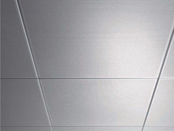 Pannelli per controsoffitto acustico in metallo amf mondena