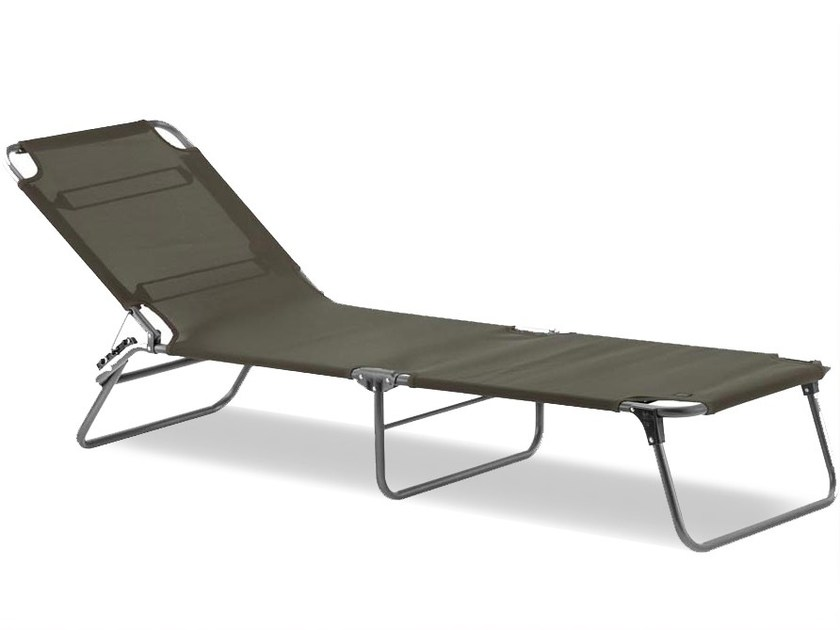Recliner fabric garden daybed AMIGO by FIAM