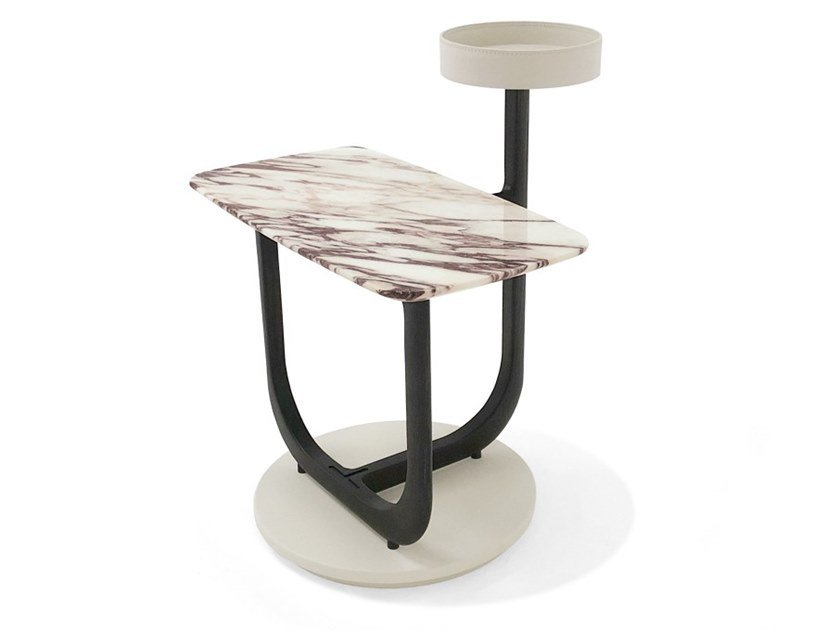 Rectangular marble coffee table AMIRAL | Rectangular coffee table by Giorgetti