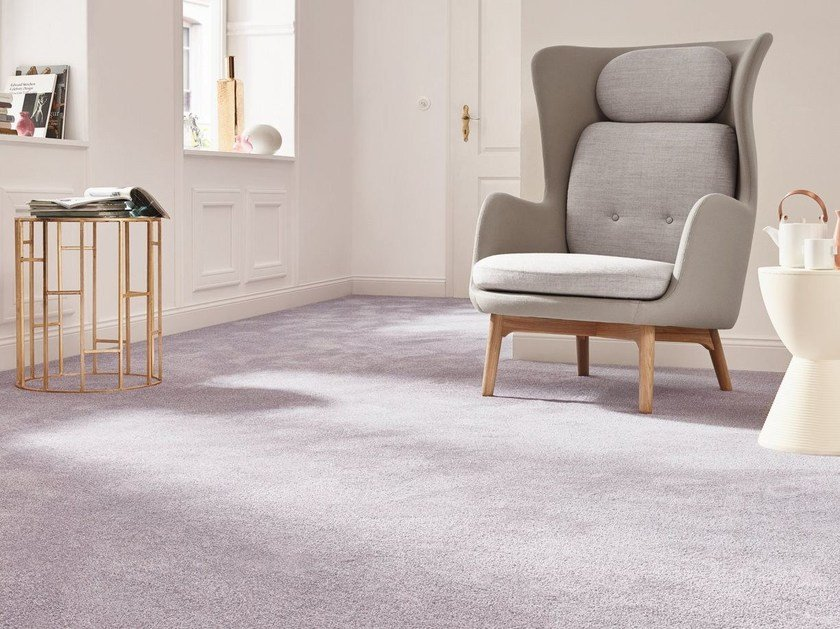 Solid-color carpeting AMIRU by Vorwerk Teppichwerke