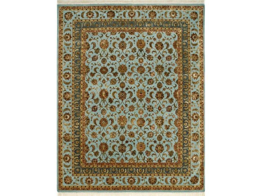 Handmade rug AMNERIS QNQ-06 Light Turquoise by Jaipur Rugs