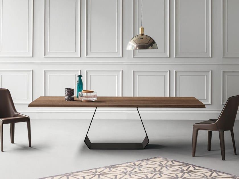 Tavolo rettangolare in legno AMOND | Tavolo in legno by Bonaldo