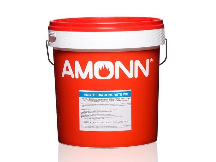 Pittura Per Cemento Armato : Pittura per la protezione dal fuoco amotherm concrete wb j.f. amonn