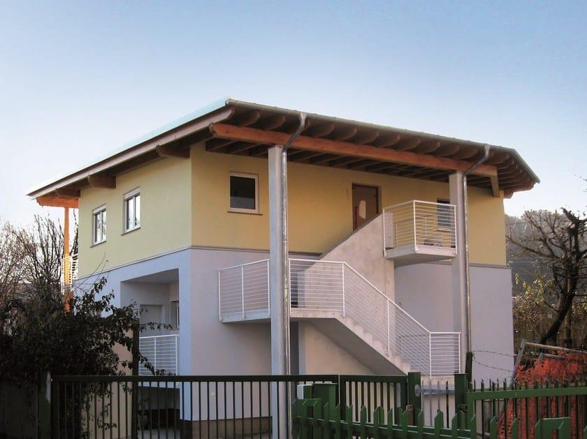 Prefab Timber Home AMPLIAMENTI by Spazio Positivo