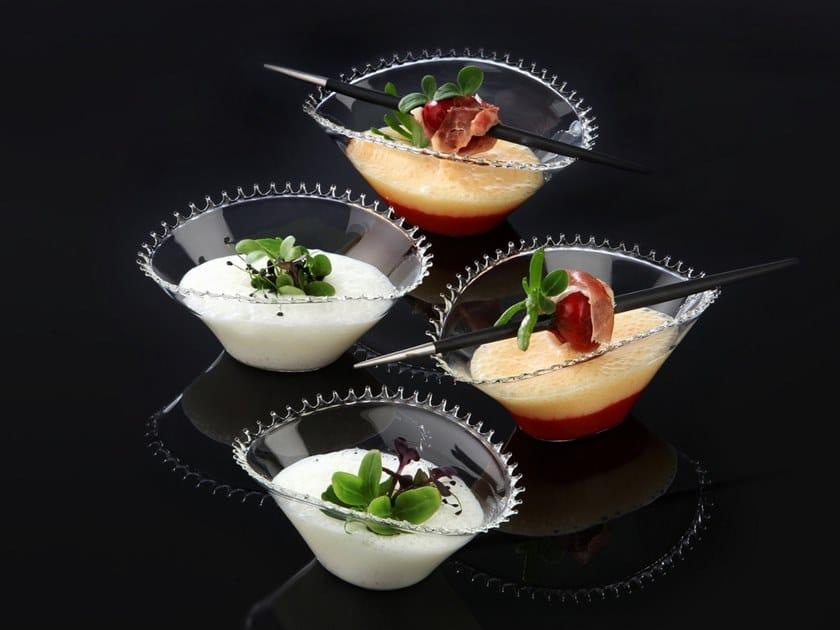 Borosilicate glass bowl AMUSE   Borosilicate glass bowl by Zieher