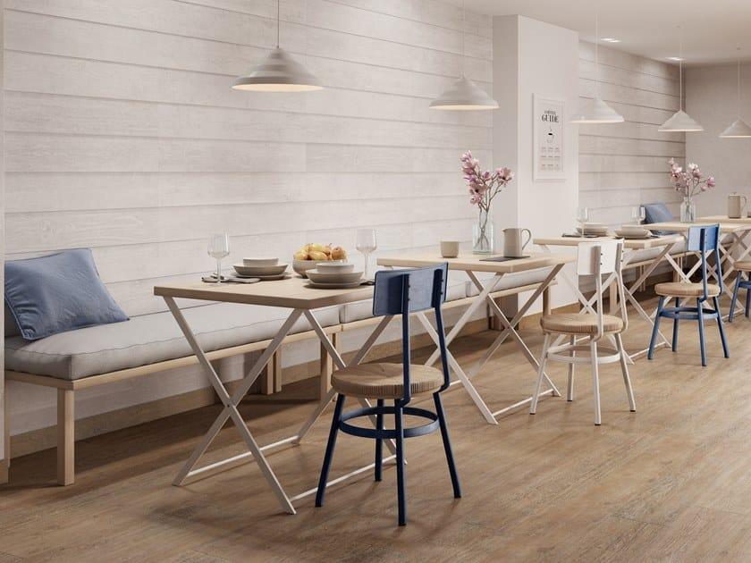 Indoor/outdoor wall/floor tiles with wood effect ANCIENT by PERONDA