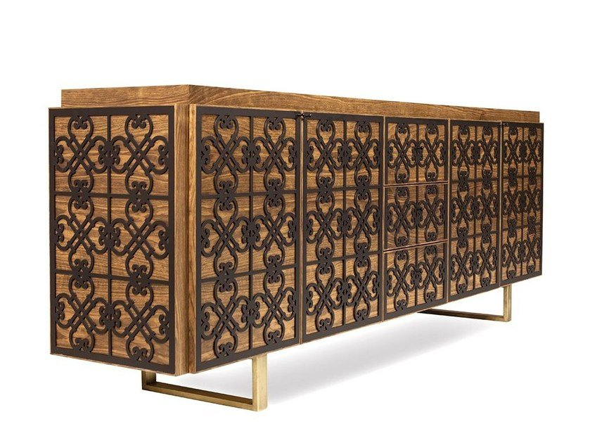 Wooden sideboard ANDALUCIAN by Mobi
