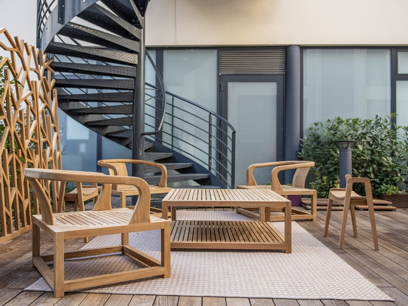 Teak lounge set ANDAMAN by MOBIKA GARDEN