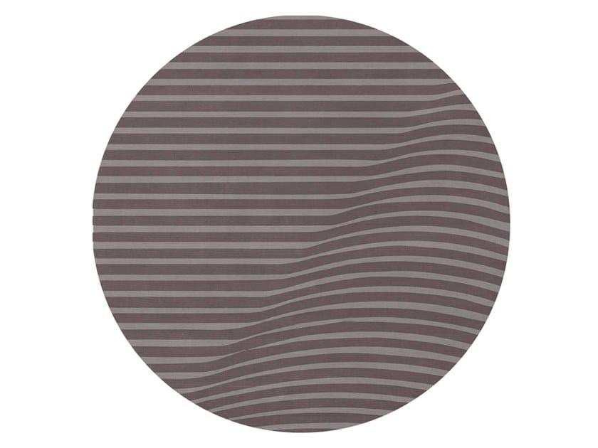 Handmade round wool rug ANDERSON | Rug by Essential Home