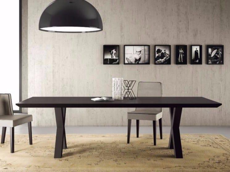 Rectangular dining table ANDREA 011 by Casamilano
