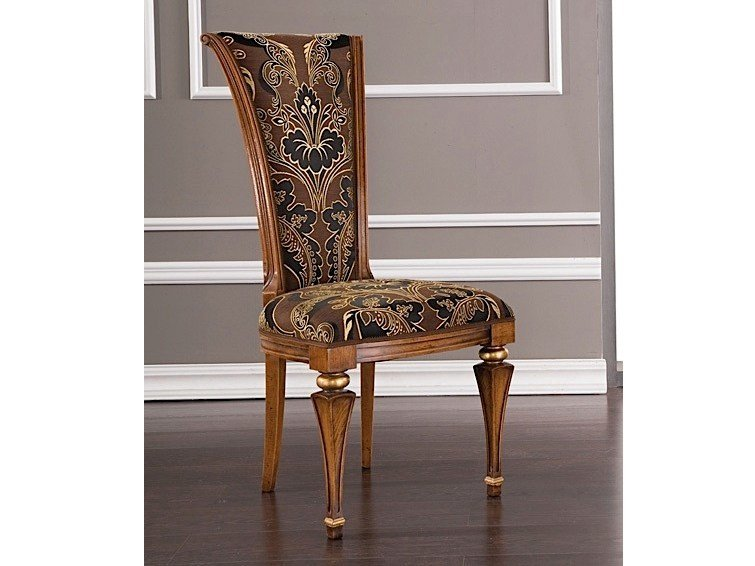 Upholstered high-back chair ANDREAS | Chair by Arvestyle