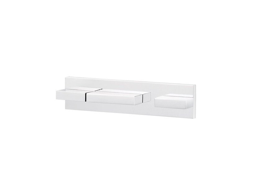 Wall-mounted thermostatic bathtub tap ANDREW | Thermostatic bathtub tap by rvb