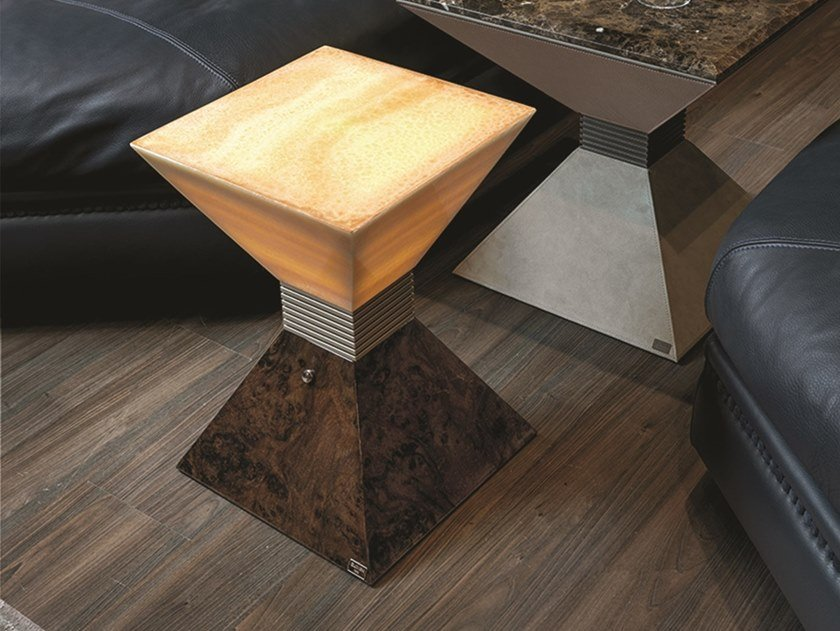 Onyx coffee table with light ANDY | Coffee table with light by Longhi