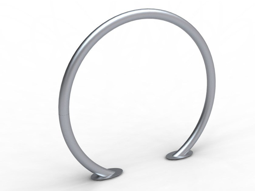 Galvanized steel Bicycle rack ANELLO by LAB23