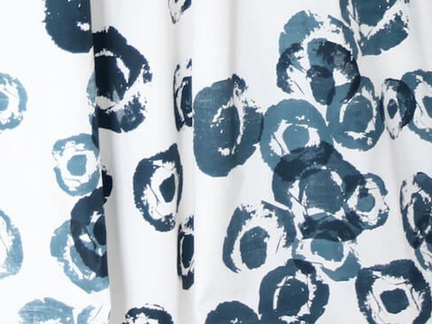 Canvas fabric for curtains ANEMONE | Fabric by Birgit Morgenstern Studios