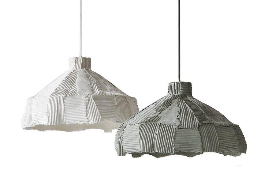 Ceramic pendant lamp ANEMONE | Pendant lamp by Paola Paronetto