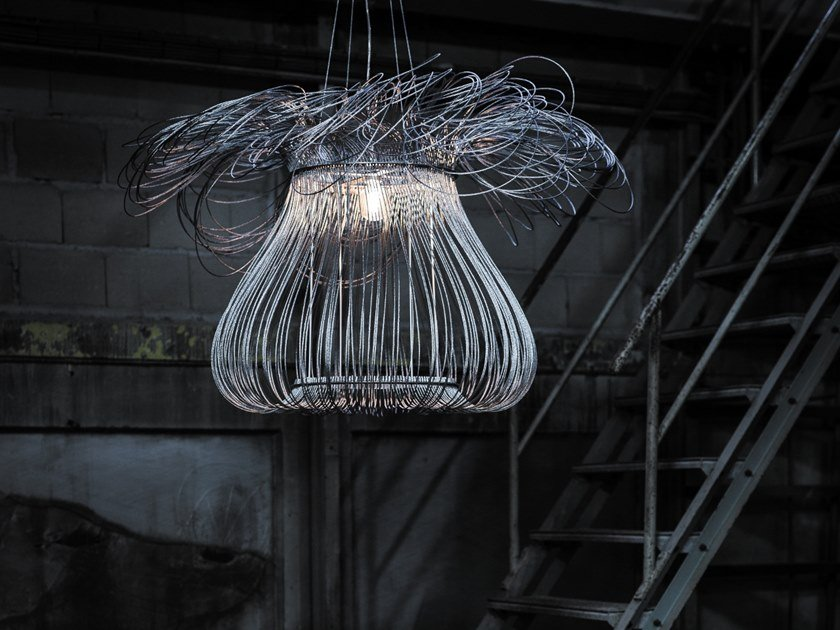 LED metal pendant lamp ANEMONE by Quasar