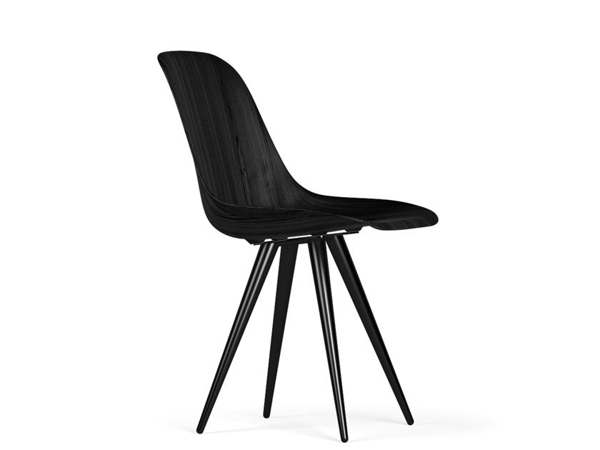 Wooden chair ANGEL CONTRACT W9 by KUBIKOFF