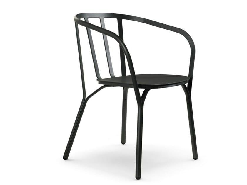 Aluminium chair ANGEL   Chair by ROCHE BOBOIS