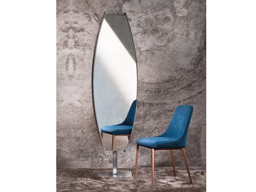 Double-sided freestanding framed mirror ANGEL by RIFLESSI