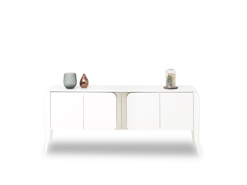 Lacquered sideboard with doors ANGEL | Sideboard by Enza Home