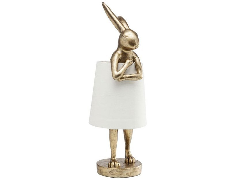 LED table lamp ANIMAL RABBIT GOLD | Table lamp by KARE-DESIGN