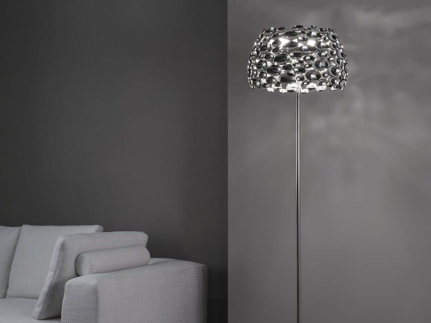 LED metal floor lamp ANISH | Floor lamp by TERZANI