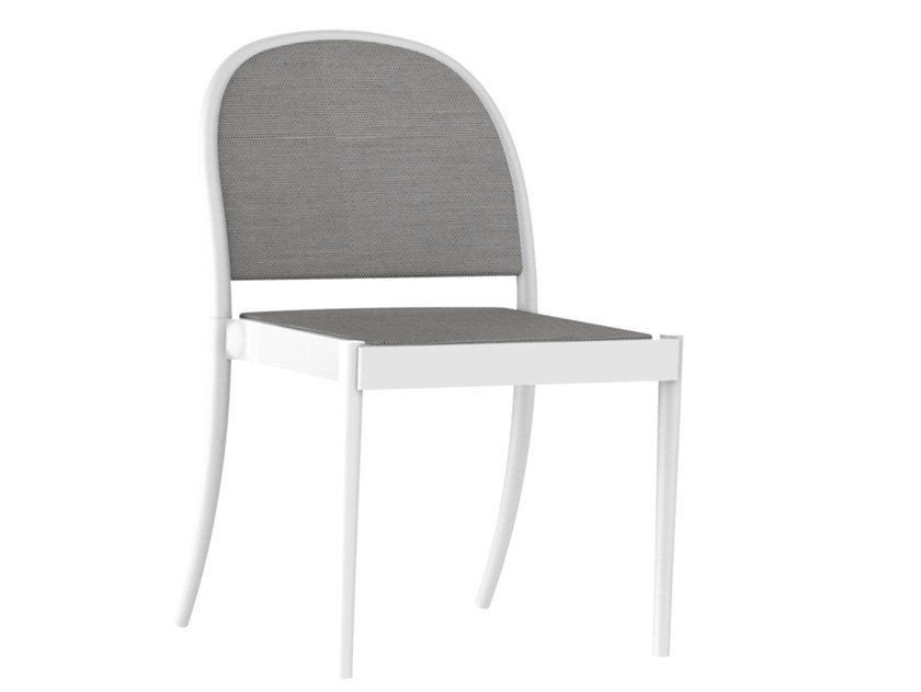 Upholstered stackable chair ANN by Wiener GTV Design