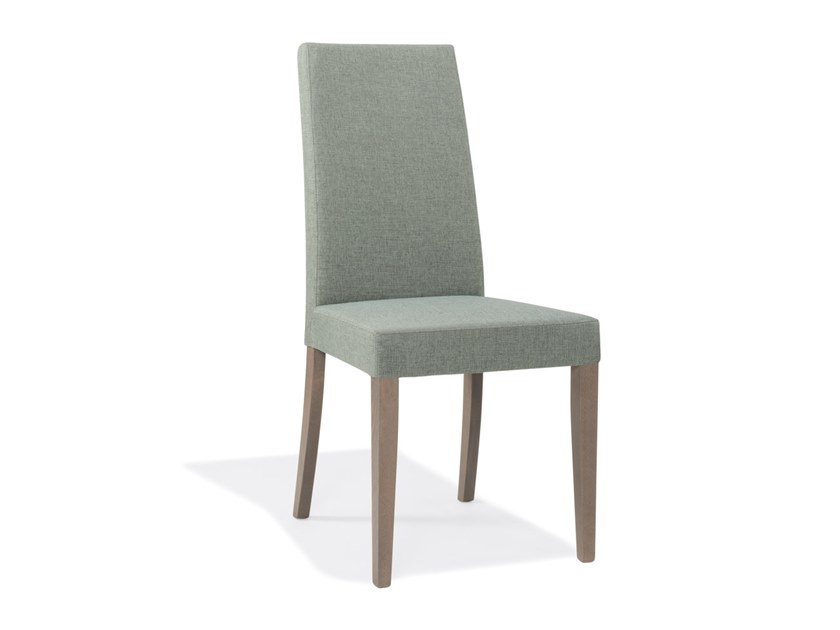 Upholstered high-back fabric chair ANNA SE01 | Fabric chair by New Life