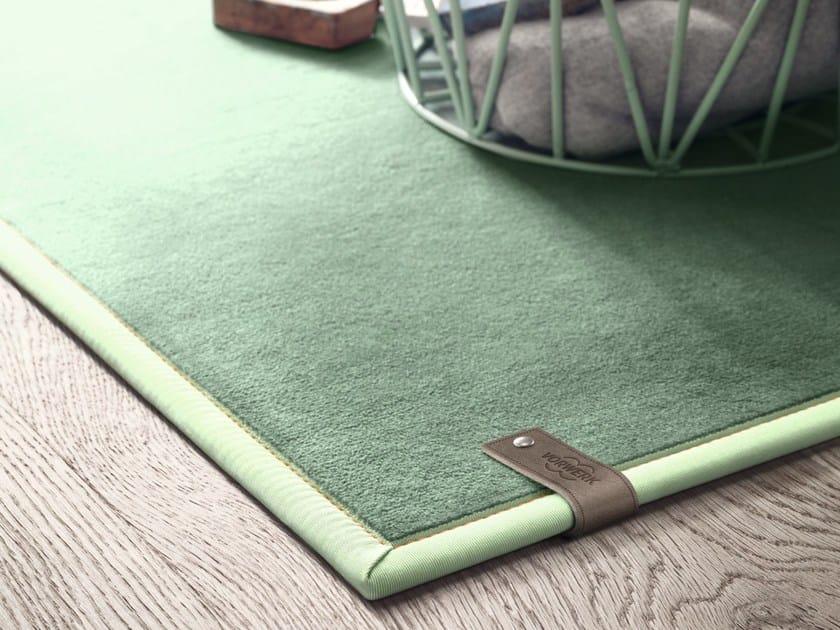 Solid-color rug ANNA by Vorwerk Teppichwerke