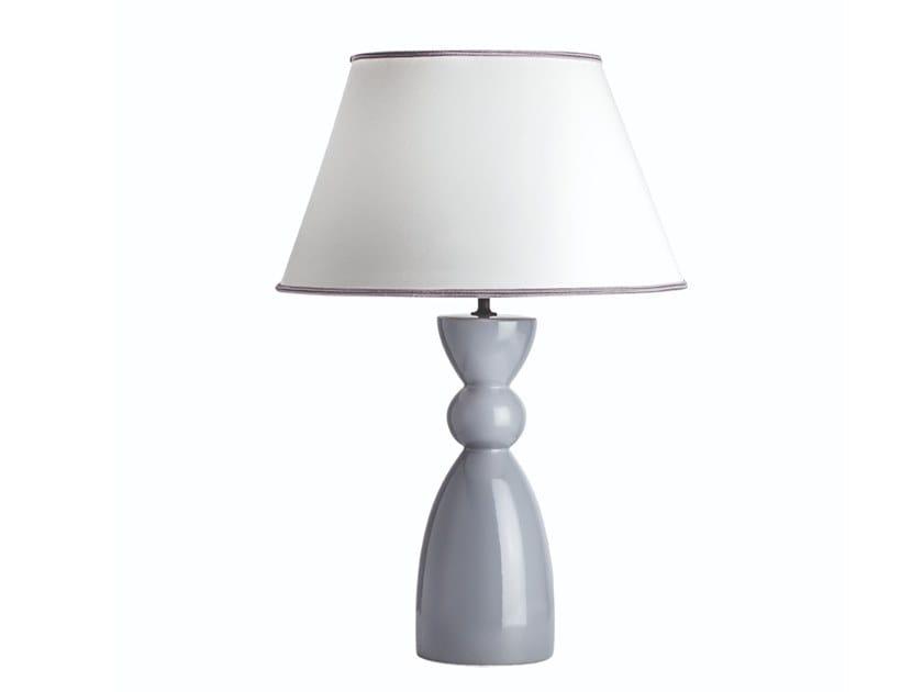 Lampada da tavolo in ceramica ANNETTE by Rossini Illuminazione