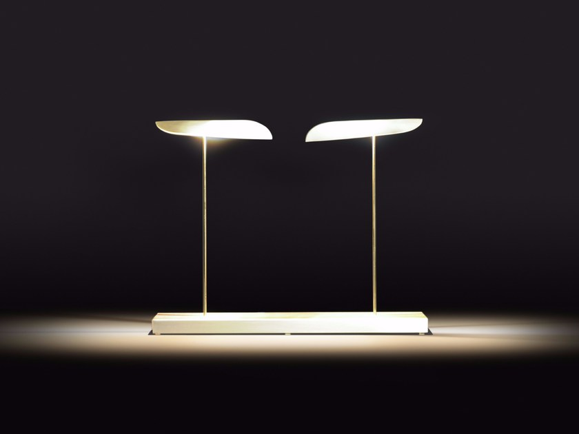 Metal table lamp ANODINE | Desk lamp by Paolo Castelli