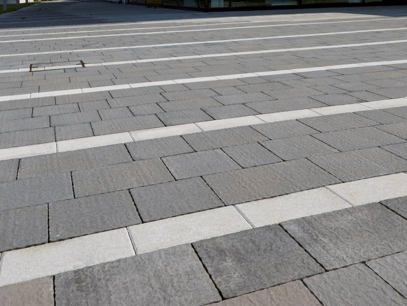 Concrete paving block ANTARA - NATURA by RECORD - BAGATTINI