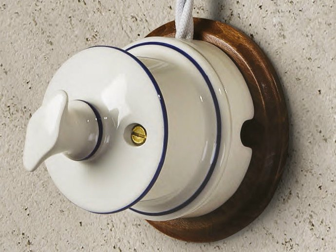 Electrical socket ANTARES by Aldo Bernardi
