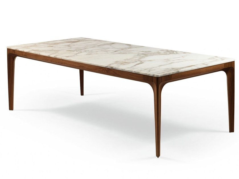Rectangular marble table ANTEO | Rectangular table by GIORGETTI