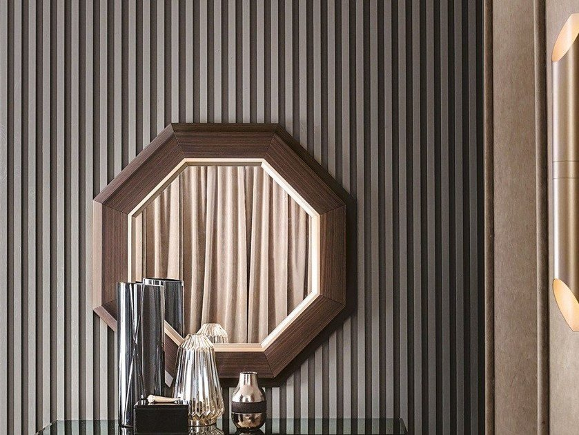Specchio a parete con cornice ANTHEA by Casamilano
