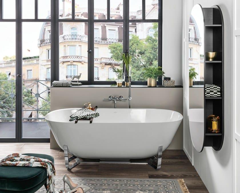 Vasca Bagno Freestanding : Vasca da bagno freestanding in quaryl® antheus vasca da bagno in