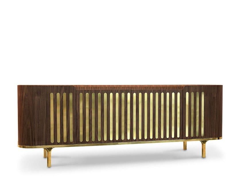 Walnut sideboard ANTHONY   Sideboard by Delightfull