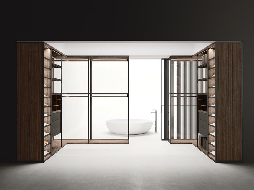 Sistema divisorio / cabina armadio ANTIBES by Boffi