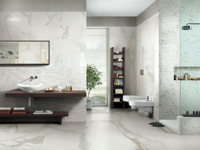 Porcelain stoneware wall/floor tiles with marble effect ANTIQUE MARBLE by CERIM