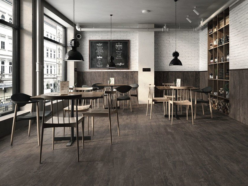Porcelain stoneware wall/floor tiles with wood effect ANTIQUE WOOD by Casalgrande Padana