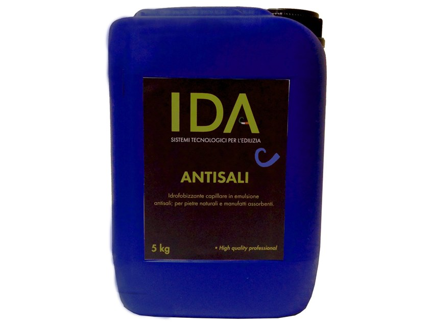 Surface water-repellent product ANTISALI by IDA