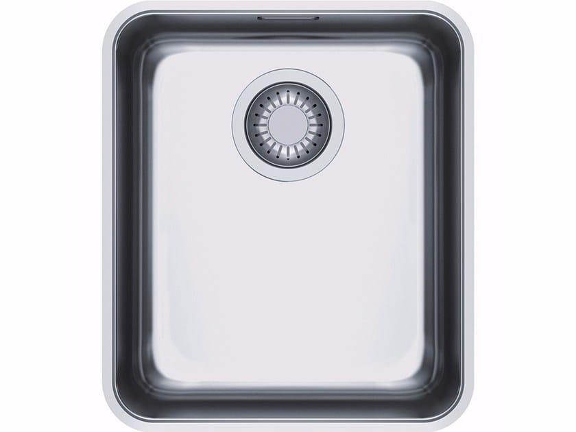 Lavello a una vasca sottotop in acciaio inox ANX 110 by FRANKE