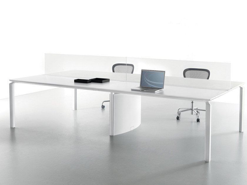 Multiple office workstation ANYWARE | Office workstation by Martex