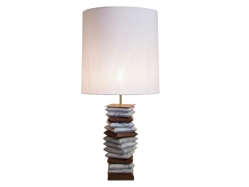 Lampada da tavolo in marmo APACHE by BRABBU