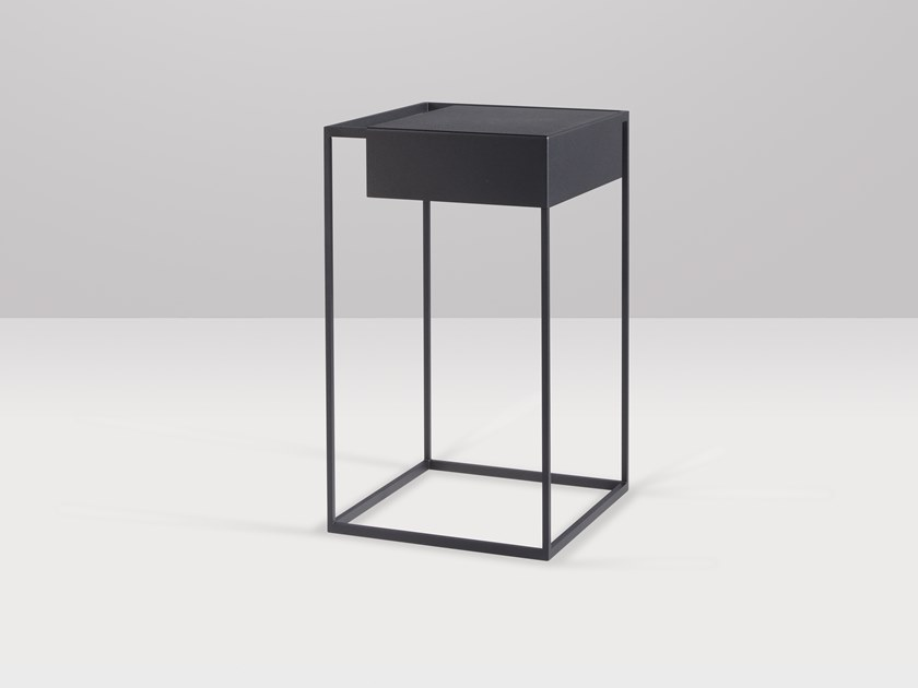 Square metal high side table APERO | High side table by Recor Home